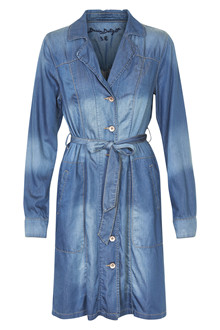 CREAM DENIM TRENCH C. DRESS 10601513