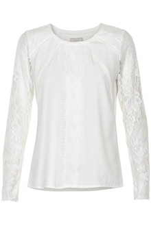 CREAM VIVA T-SHIRT BLOUSE 10601514