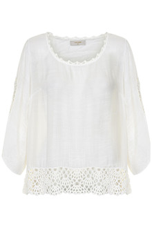 CREAM BONFILIA BLOUSE 10601692