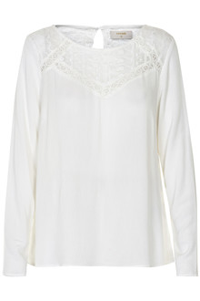 CREAM LULU BLOUSE 10601853