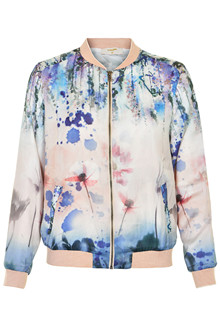 CREAM EVALIAN BOMBER JACKET 10601911
