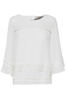 CREAM MELAYLA BLOUSE 10601958 C