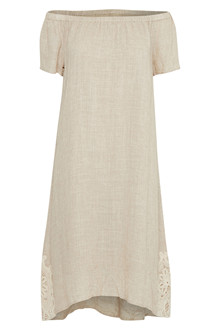 CREAM ADDY DRESS 10601982