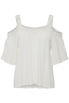 CREAM VISILLA BLOUSE 10602064 C