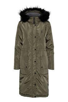 CREAM ADDISON LONG PARKA 10602147