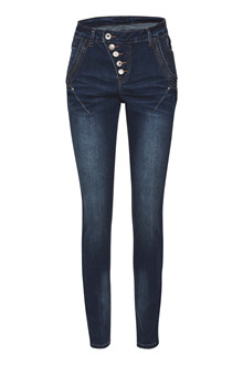 CREAM FLOCK JEANS BAILEY 10602190