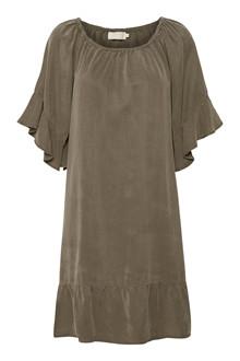 CREAM IVANNA DRESS 10602200