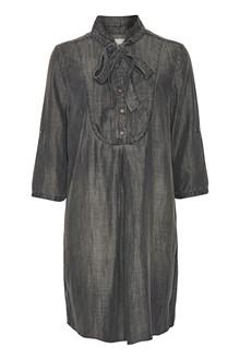 CREAM LUNA DENIM SHIRT DRESS 10602355