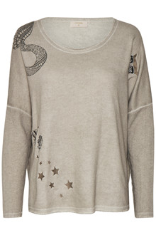 CREAM ADELIA SWEATSHIRT 10602443