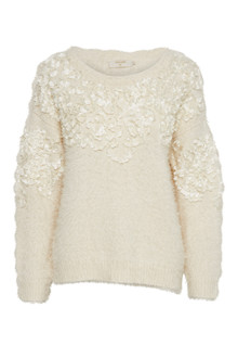 CREAM JULIETTE PULLOVER 10602585 P