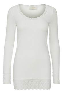 CREAM VANESSA T-SHIRT 10602819 C
