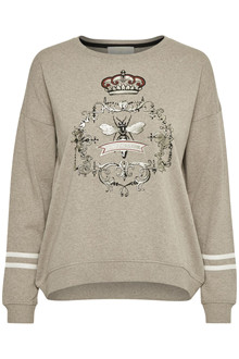 CREAM GYTA SWEATSHIRT 10602825