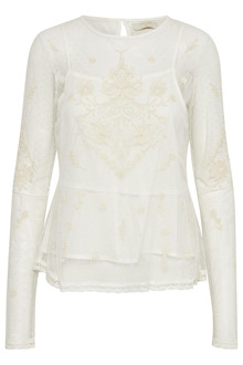 CREAM ASTRID BLOUSE 10602836