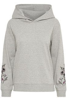 CREAM FLOWERS SWEAT HODDIE 10602908