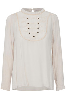 CREAM ALEXIA BLOUSE 10602989