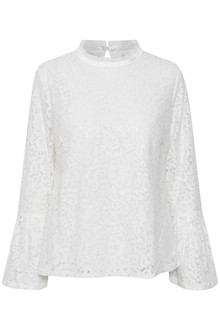 CREAM IZABEL SEQUIN BLOUSE 10602994 C
