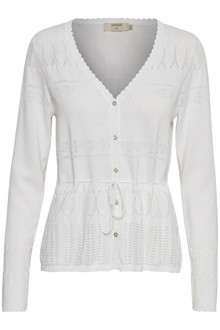 CREAM ADELE CARDIGAN 10603265