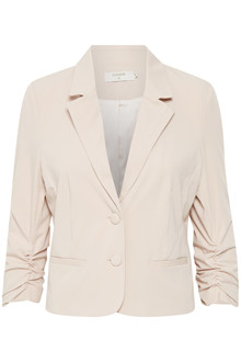 CREAM ESTHER 3/4 SLEEVE BLAZER 10603361 RD