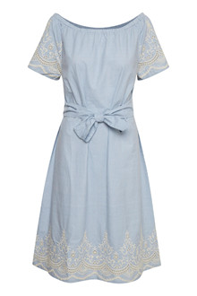 CREAM HELLEN DRESS 10603395
