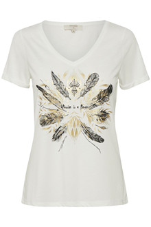 CREAM HEATHER T-SHIRT 10603460