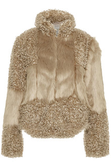 CREAM CASSIE FUR JAKKE 10603559