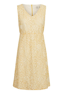 CREAM CLARITA LACE KJOLE 10603803