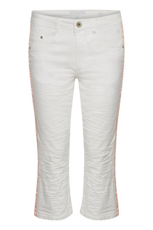 CREAM LOTTE TWILL PANTS 10604141