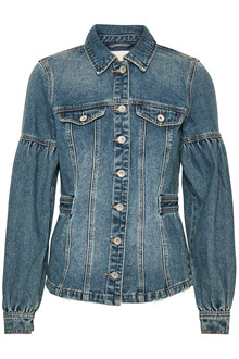 CREAM BRENNY DENIM JACKET 10604214