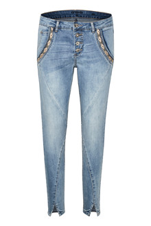 CREAM HOLLY BAIILY FIT 7/8 JEANS 10604222