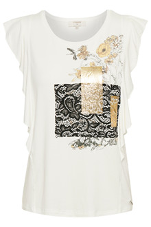 CREAM MILANO T-SHIRT 10604517
