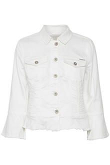 CREAM VIVIANA DENIM JACKET 10604614