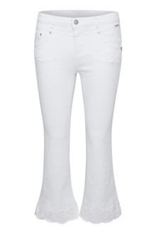 CREAM CLARA SHAPE FIT JEANS 10604687