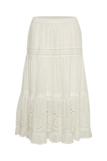 CREAM CLAIRE SKIRT 10604707