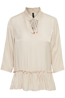CREAM SALLY BLOUSE 10650139