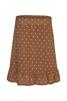 CREAM BABINA DOT SKIRT 10650324