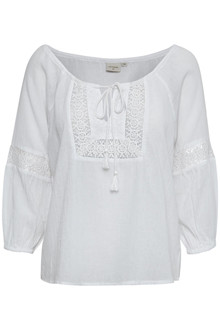 CREAM NILLE BLOUSE 10650358