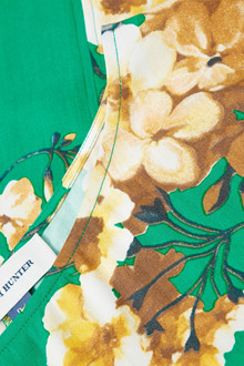Denim Hunter SØRINE GREEN FLOWER BLOUSE 10701752