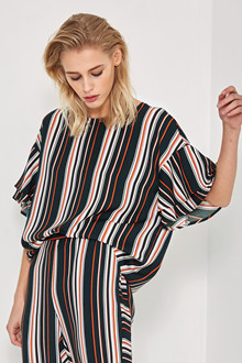 Denim Hunter LEIGHTON STRIPED BLOUSE 10701877