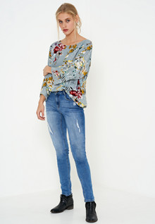Denim Hunter REX ZIP BLOUSE 10702041