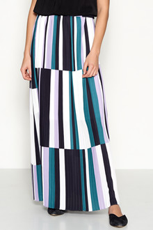 Denim Hunter DHMARTES PLEATED MAXI NEDERDEL 10702363