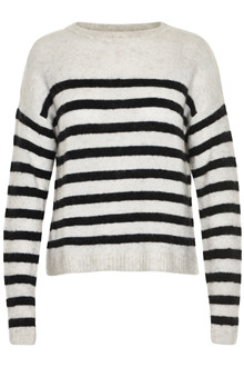 GESTUZ OBA STRIPED PULLOVER