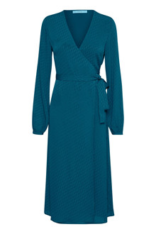 GESTUZ NETE WRAP DRESS