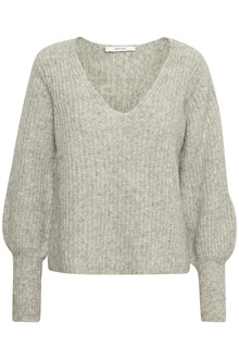 GESTUZ MELLBOW V-NECK PULLOVER