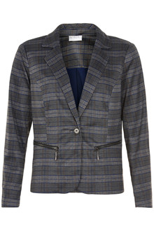 IN FRONT ASTRID CHECKED JACKET 12846