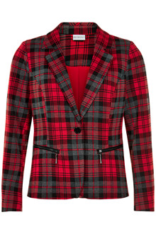 IN FRONT BERNICE CHECKED JACKET 12848
