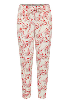 ICHI KATE PRINT PANTS 20106803