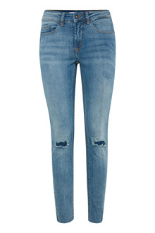 ICHI LULU FANTO AUTHENTIC BLUE JEANS 20107015