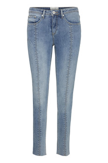 BLENDSHE BRIGHT GEMINI CROP JEANS 20202170