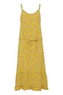 BLEND SHE YELLOW R DRESS 20202443