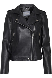b.young ELLIVI LEATHER JACKET 20803465
